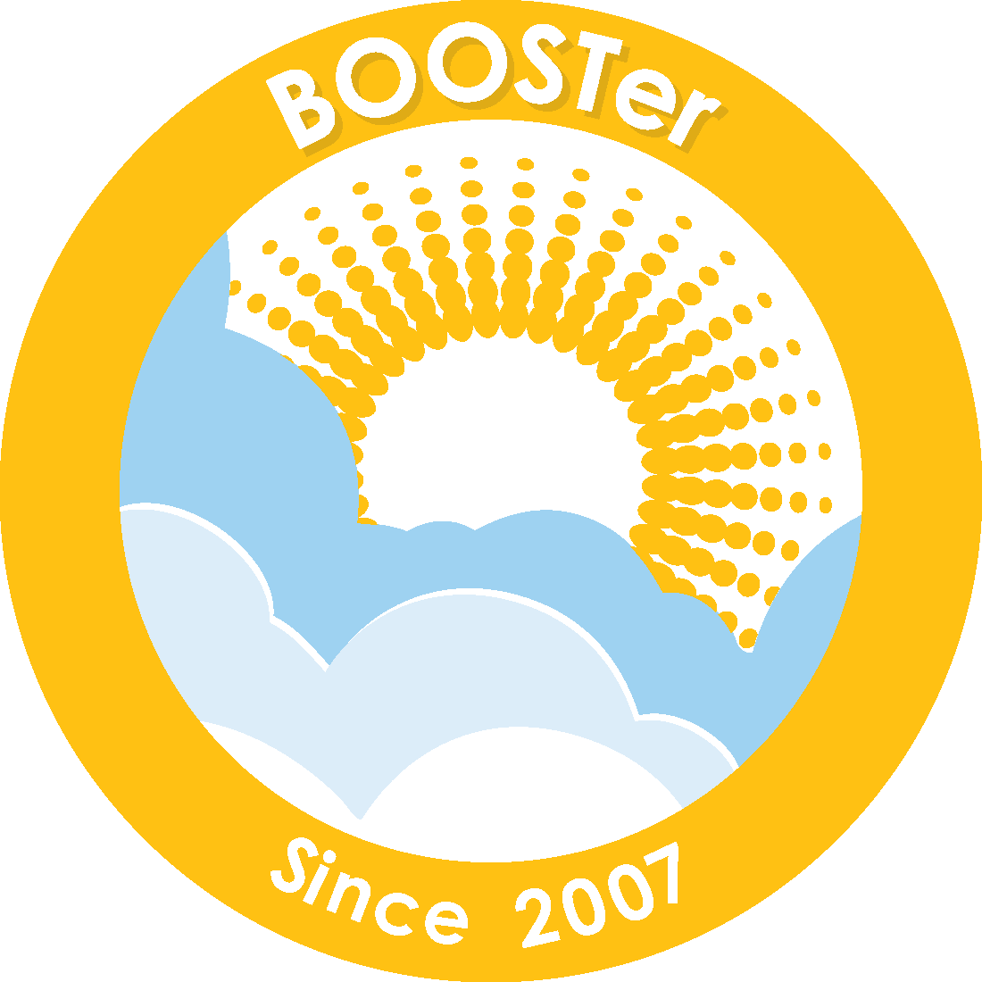 2007 BOOSTer Since badge